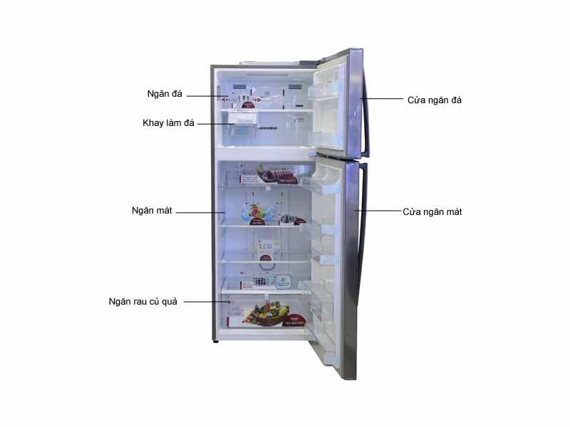 Tủ lạnh LG GRL502S 438L Inverter