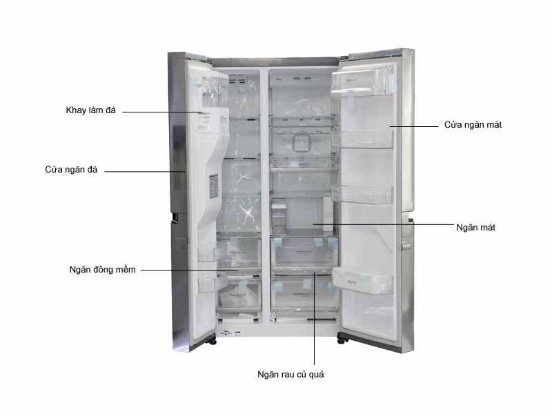Tủ lạnh SBS LG 668 lít inverter