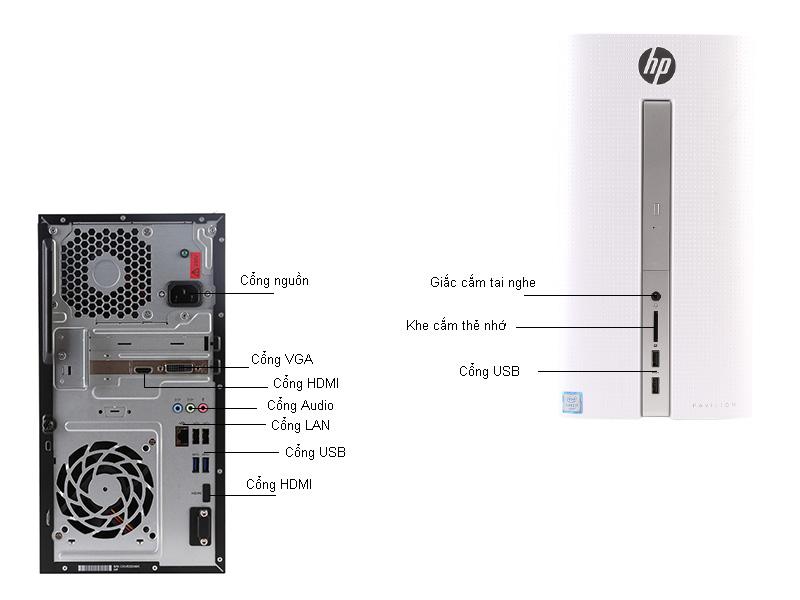 Máy tính để bàn HP Pavilion 510-P041L W2S49AA