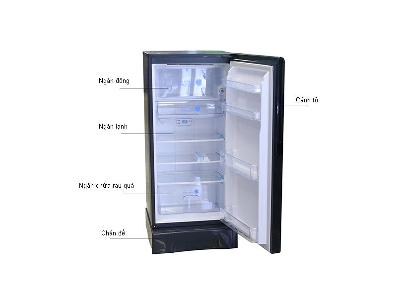 Tủ lạnh Hitachi R-G180AGV5 - Màu bạc