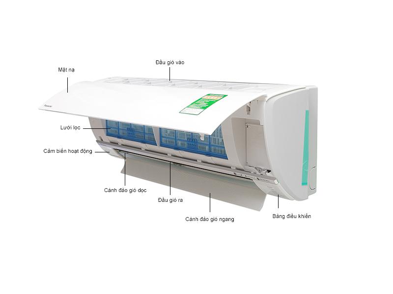 Điều hòa Panasonic hai chiều Inverter CS-E24RKH8 - 24.000BTU