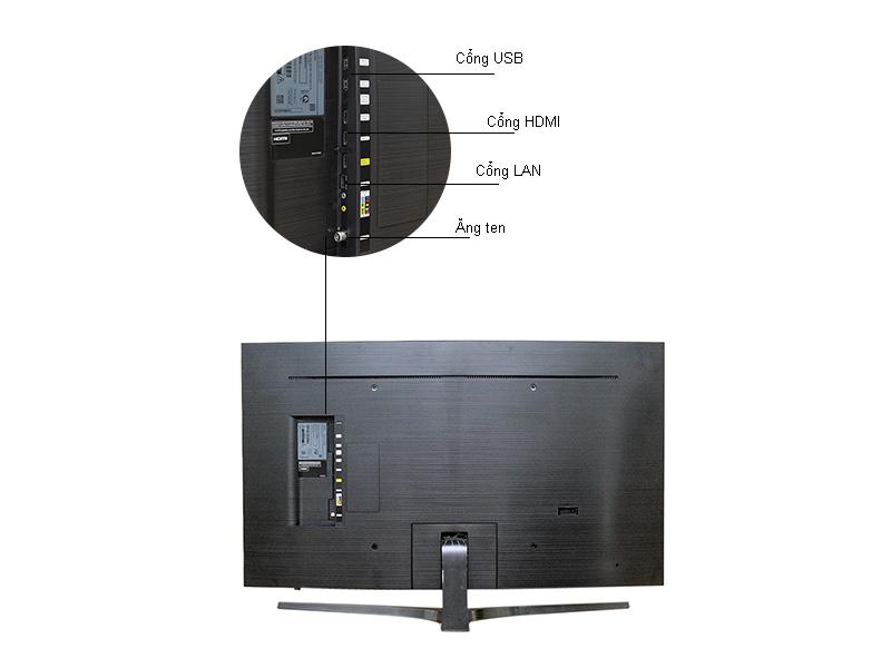 Tivi Led Samsung UA78KU6500, Curved, 4K-Ultra HD, Tizen, 78 inch
