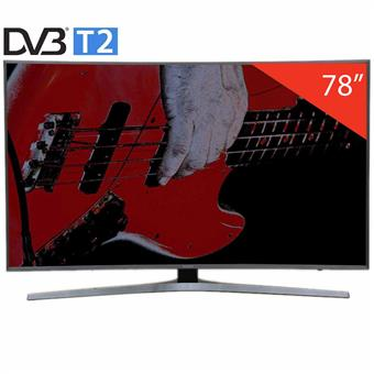 Tivi Led Samsung UA78KU6500, Curved, 4K-Ultra HD, Tizen, 78 inch
