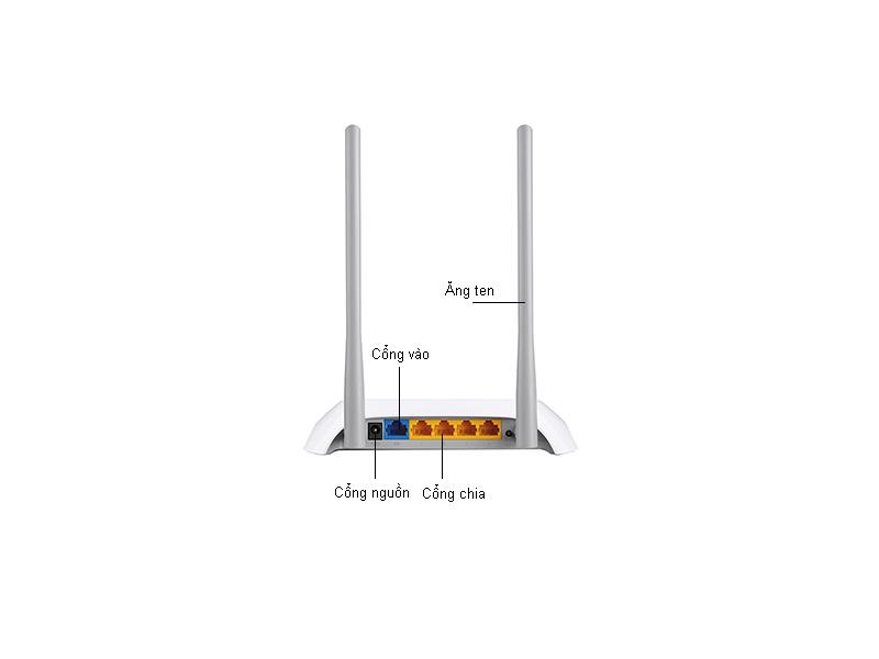 Bộ phát sóng không dây TPlink TL-WR840N 300 mbps