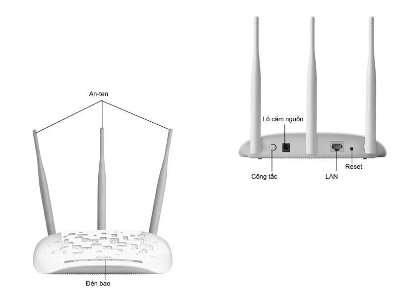 Bộ phát sóng không dây TL-WA901ND 450m Mbps