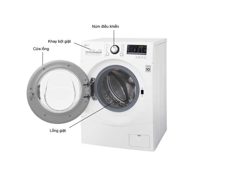 Máy Giặt Sấy LG 1409DPRW1 Inverter