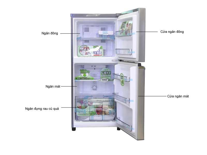 Tủ Lạnh Panasonic NRBA178PSVN - 152 Lít