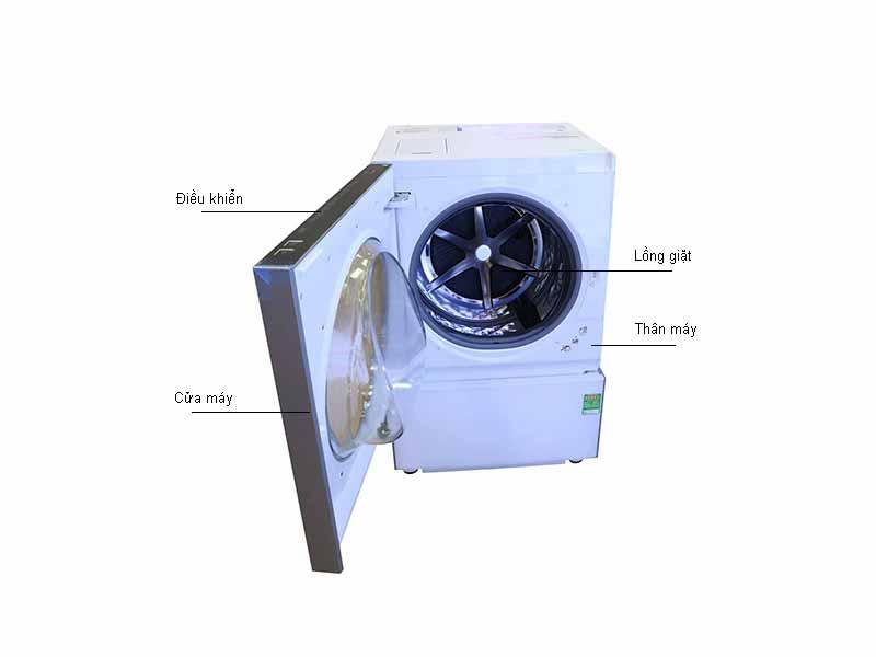 Máy giặt Panasonic NAD106X1WVT