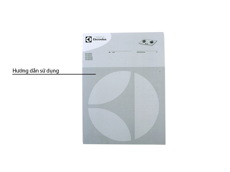 Bếp gas âm ELECTROLUX EGT7526CK