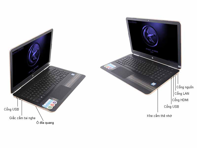Laptop HP Pavillion P15-au027TU