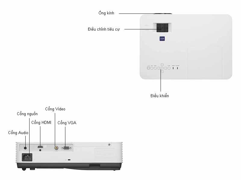 Máy Chiếu Sony VPL-DX220 - 2700 Ansi Lumens