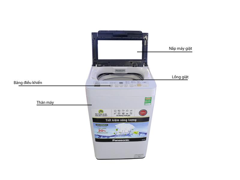 Máy giặt Panasonic NAF70VG9HRV - 7.0kg