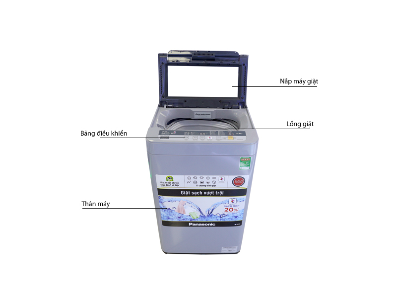 Máy giặt Panasonic NAF70VS9GRV 7.0kg
