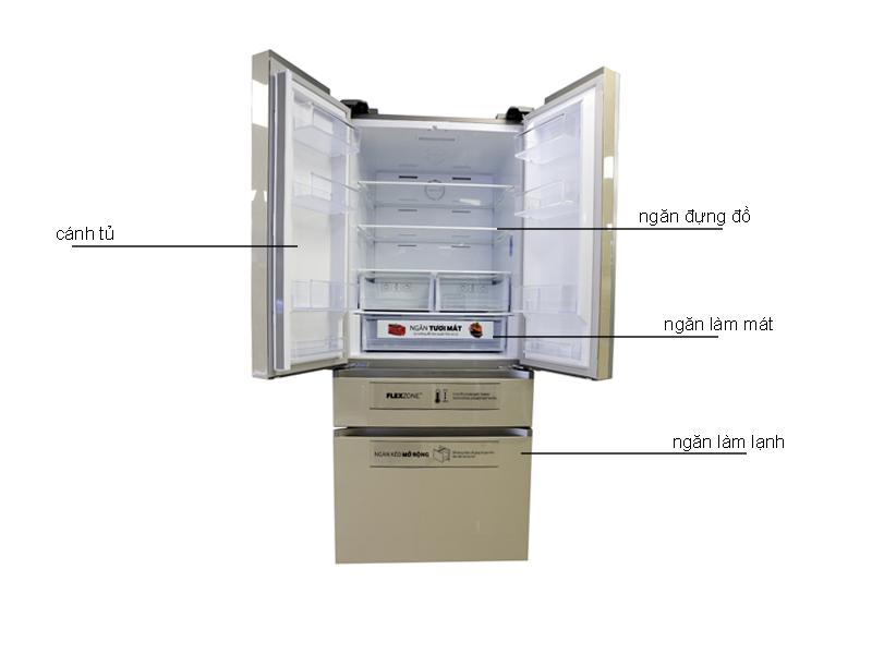 Tủ lạnh Samsung RF50K5821FGSV 475 lít