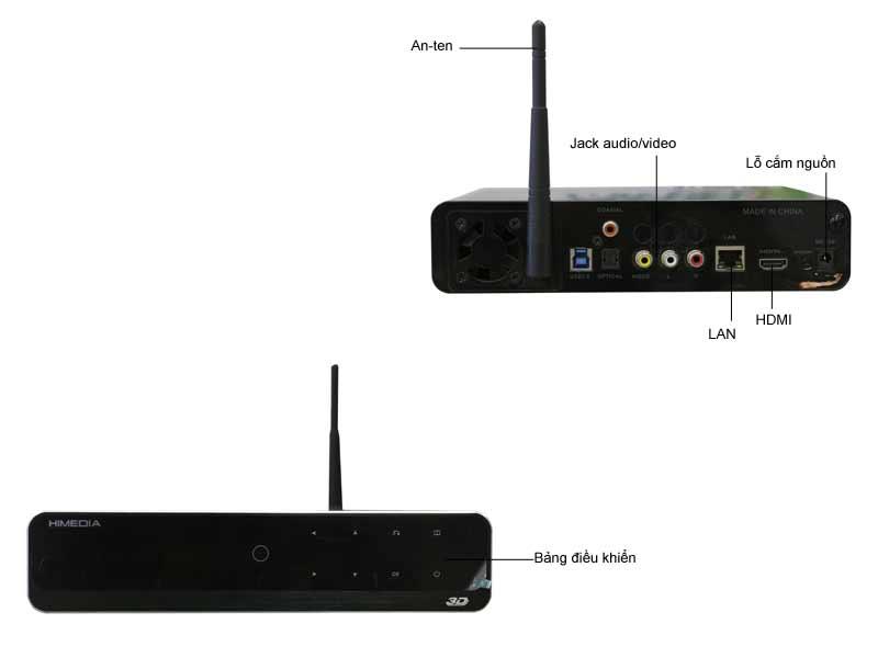 Đầu Phát HD HiMedia Q10 Pro Lite