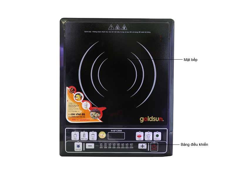 Bếp Điện Từ Goldsun IH GFY2006