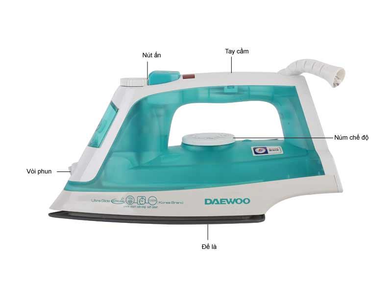 Bàn Là Hơi Nước Daewoo DWS8025