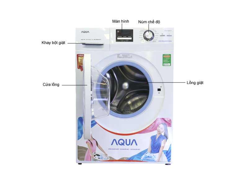 Máy Giặt Aqua AQDD980ZT Inverter 9.8kg