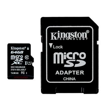 THẺ NHỚ KINGSTON SDHC CLASS 10 64GB