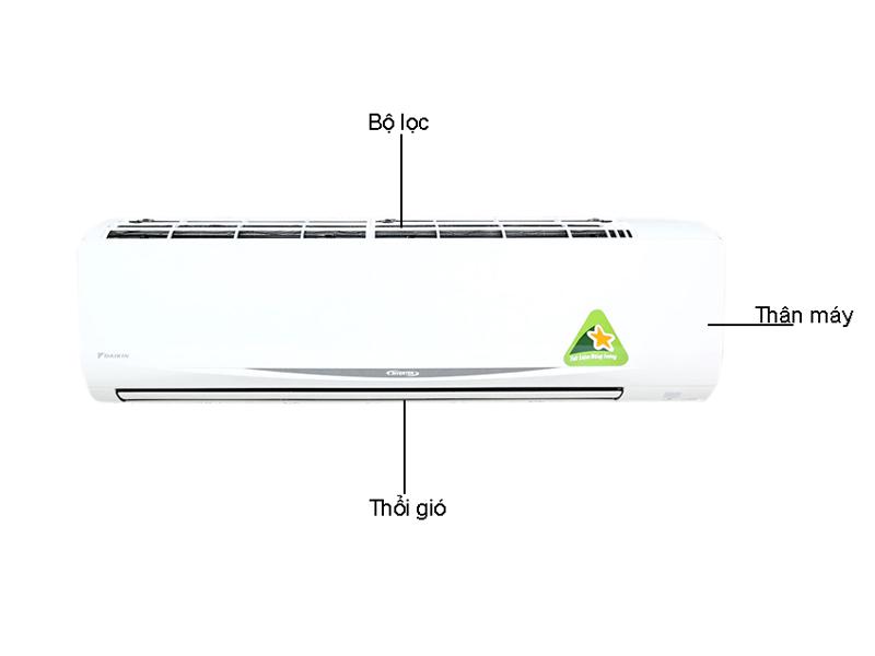 Điều Hòa 1 Chiều Inverter Daikin FTKC60QVMV 20.500BTU