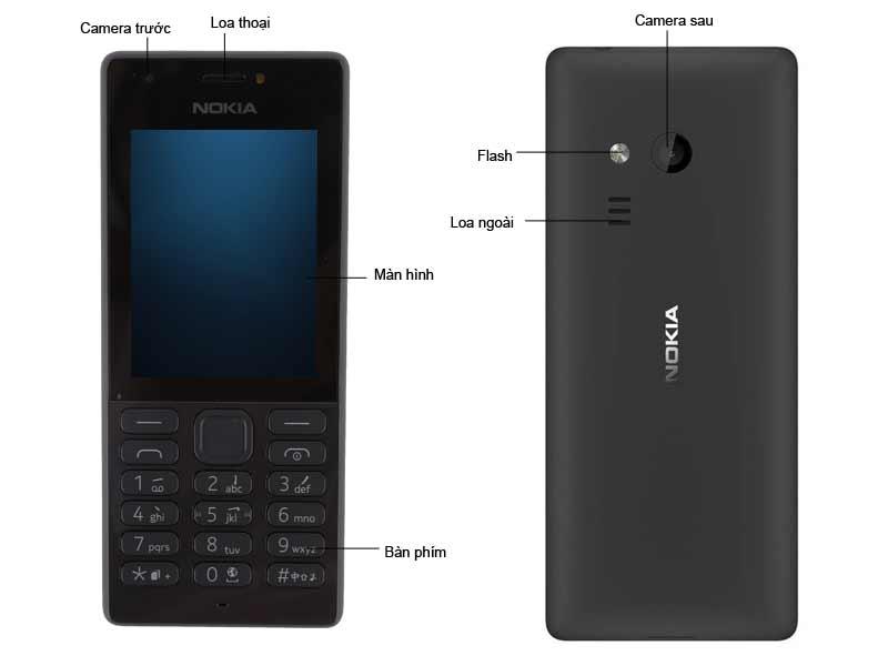 Điện Thoại Di Động Nokia 216 - Màu Đen