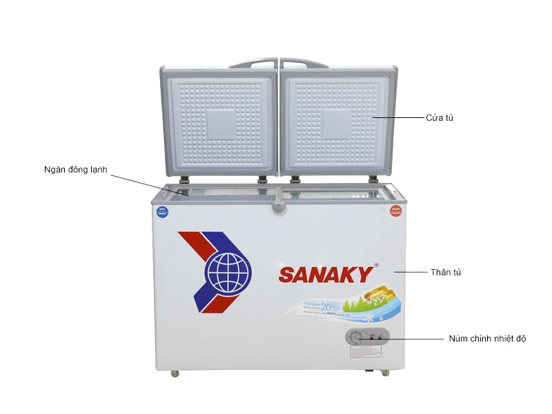 Tủ Đông Sanaky VH4099W3 Inverter