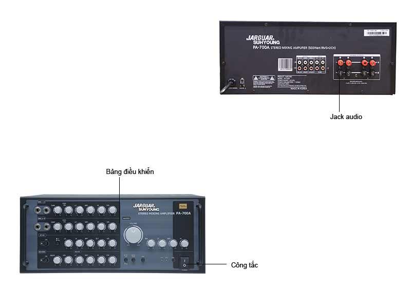 Amply Karaoke Jarguar PA700A