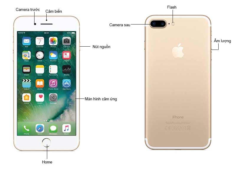 Điện Thoại iPhone 7 Plus 128GB Màu Gold  MN4Q2