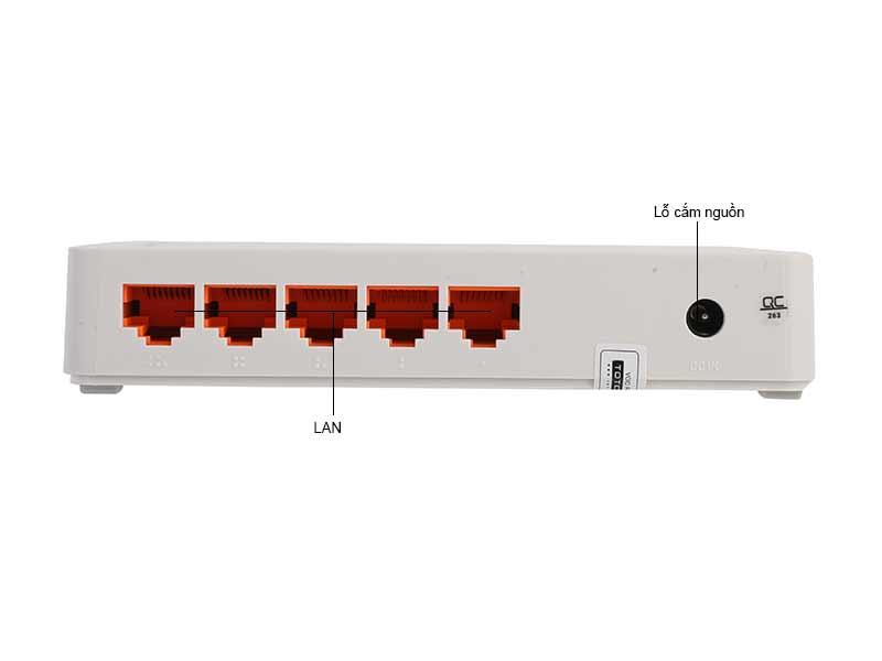 Bộ chia mạng Totolink S505