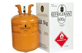 Sử dụng gas R600A