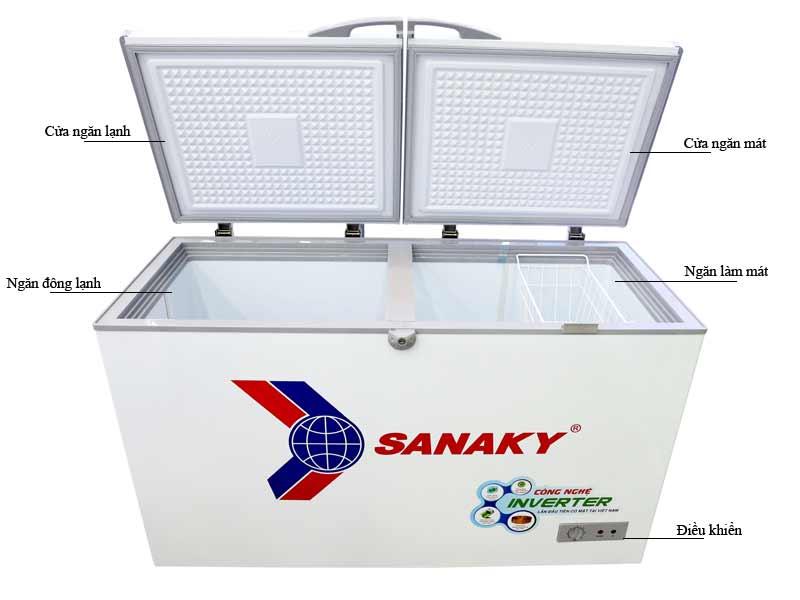 Tủ Đông Sanaky VH4099A3 Inverter