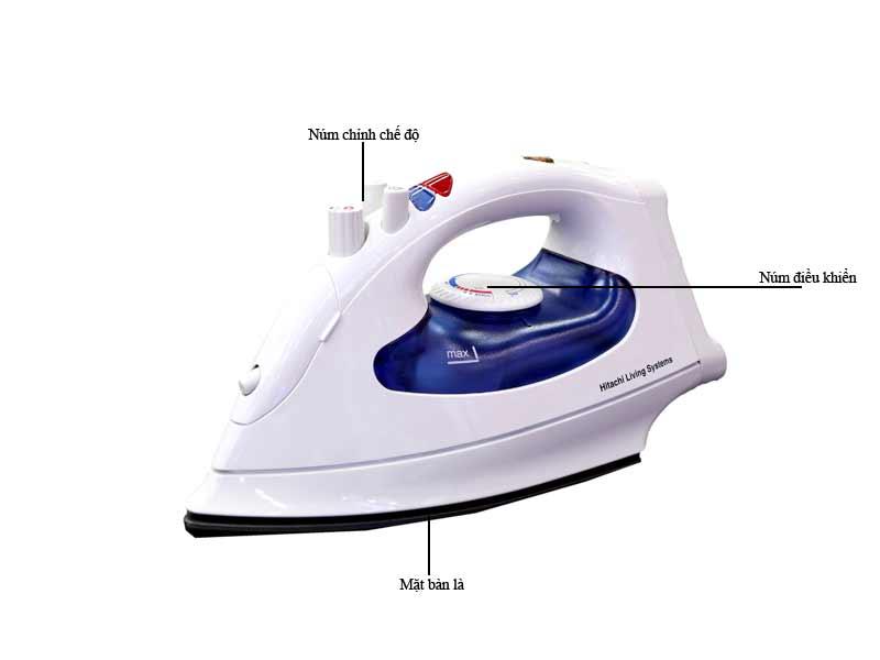 Bàn là hơi nước Hitachi SI1650