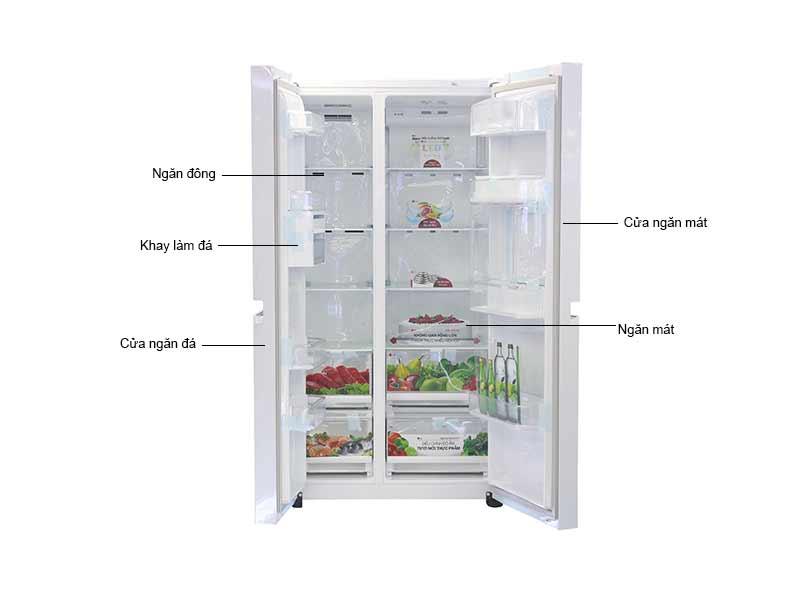 Tủ Lạnh SBS LG GRR247LGW Inverter