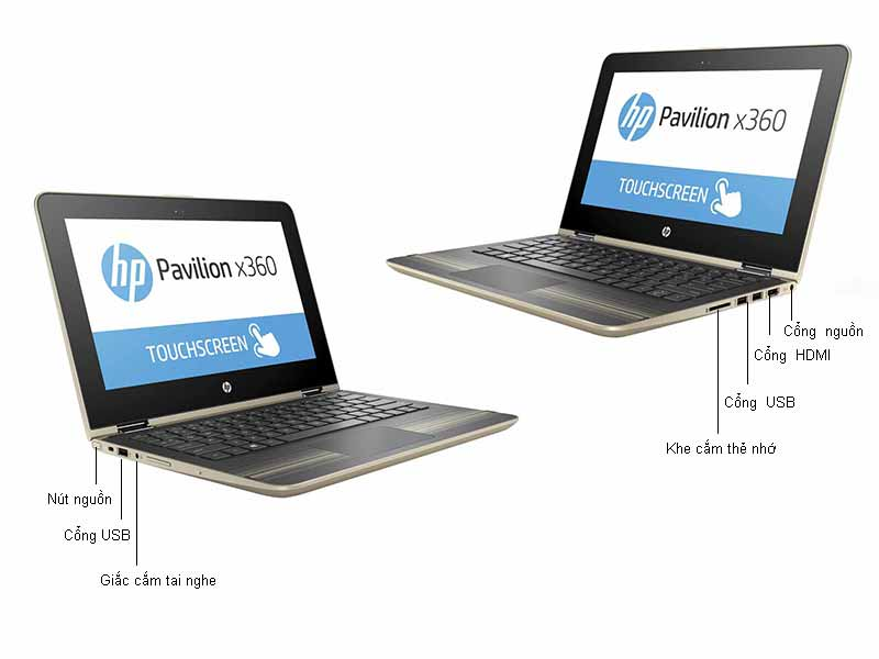 Laptop HP Pavilion X360 P11-U104TU