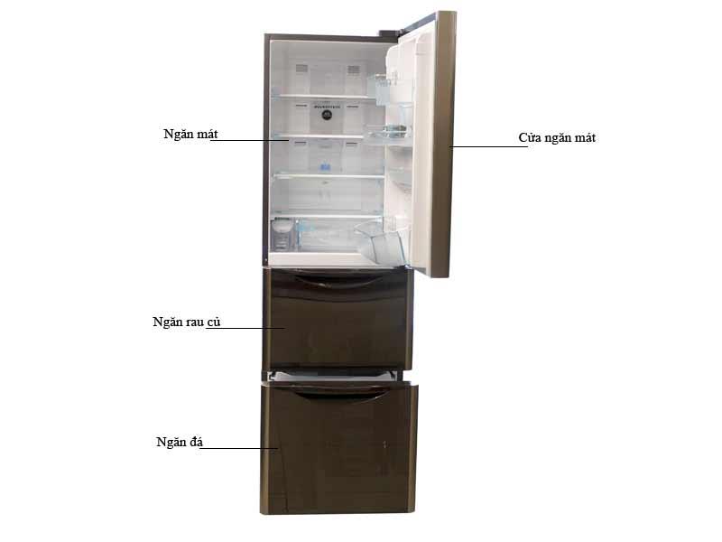 Tủ lạnh Hitachi SG31BPGGBW - 305 lít