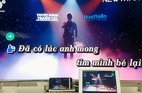 Phát video karaoke qua wifi
