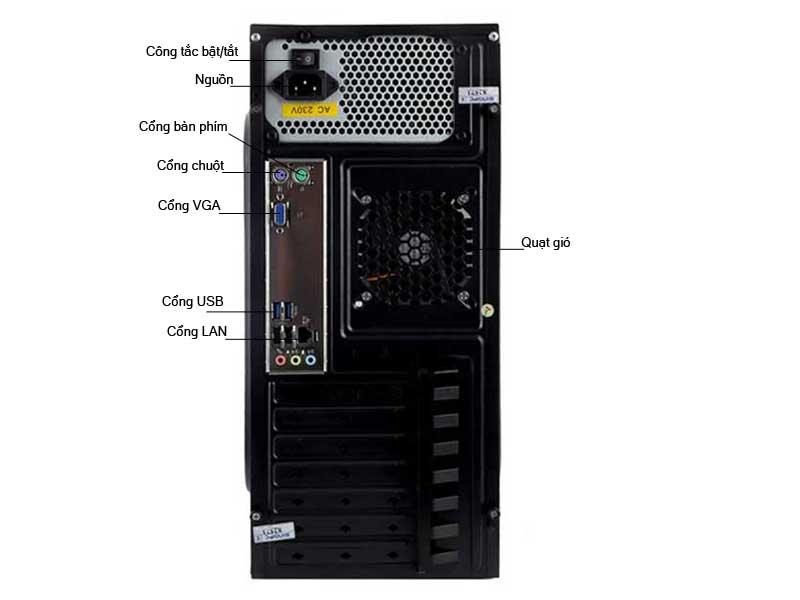 Máy tính để bàn SingPC M32555