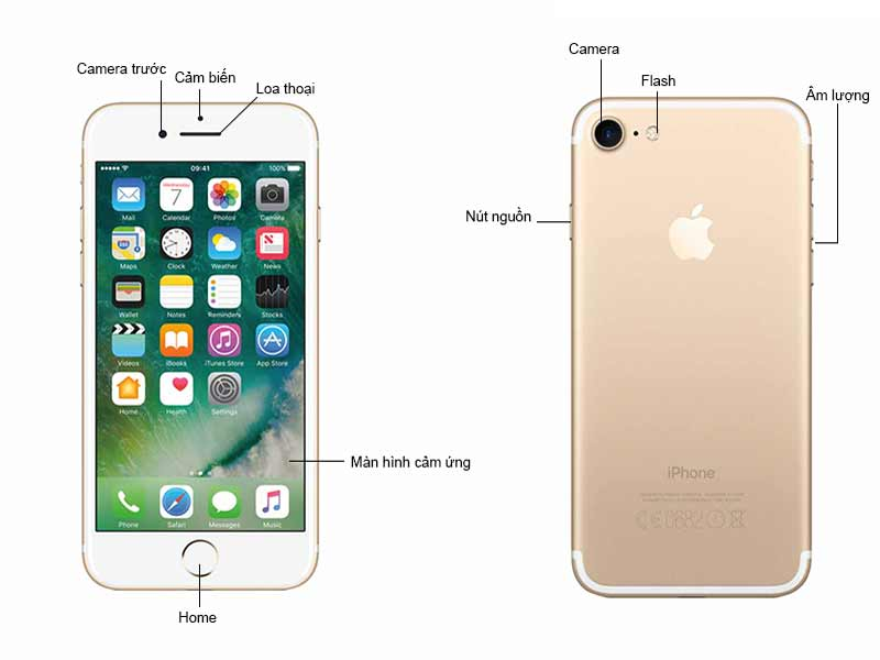 Điện thoại Apple iPhone 7 32GB Gold