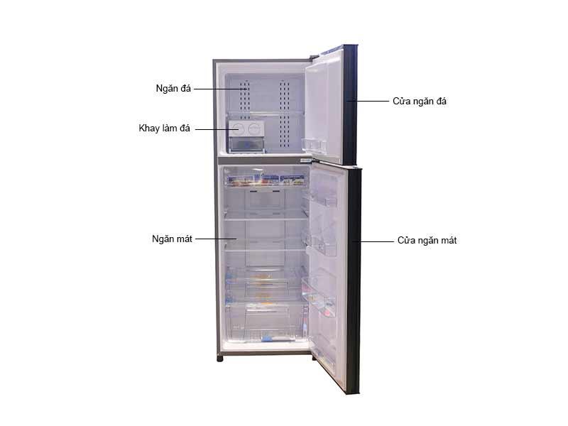 Tủ Lạnh Aqua AQRIU376BN 373 Lít Inverter
