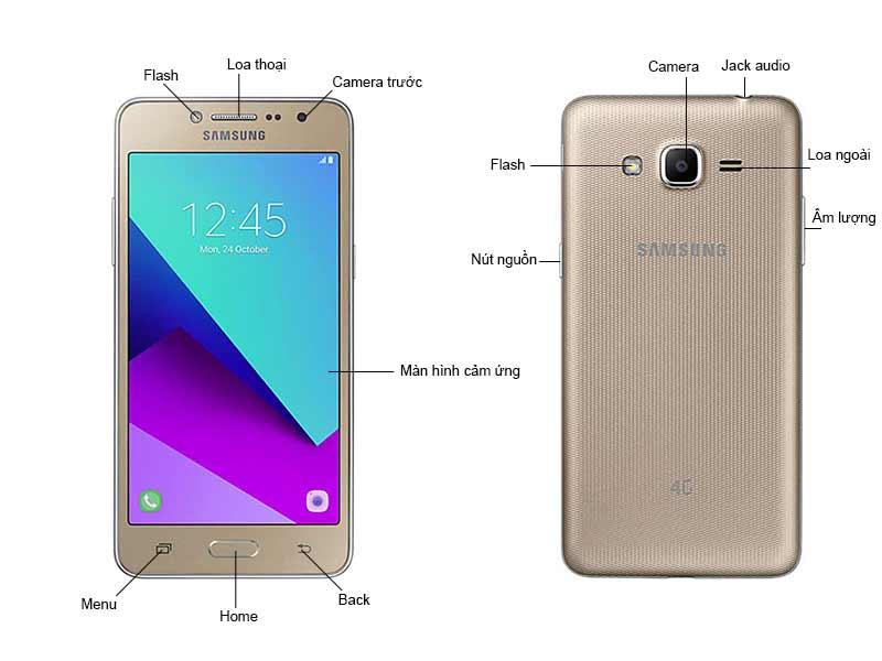 Điện thoại di động Samsung Galaxy J2 Prime - Màu Vàng Hồng