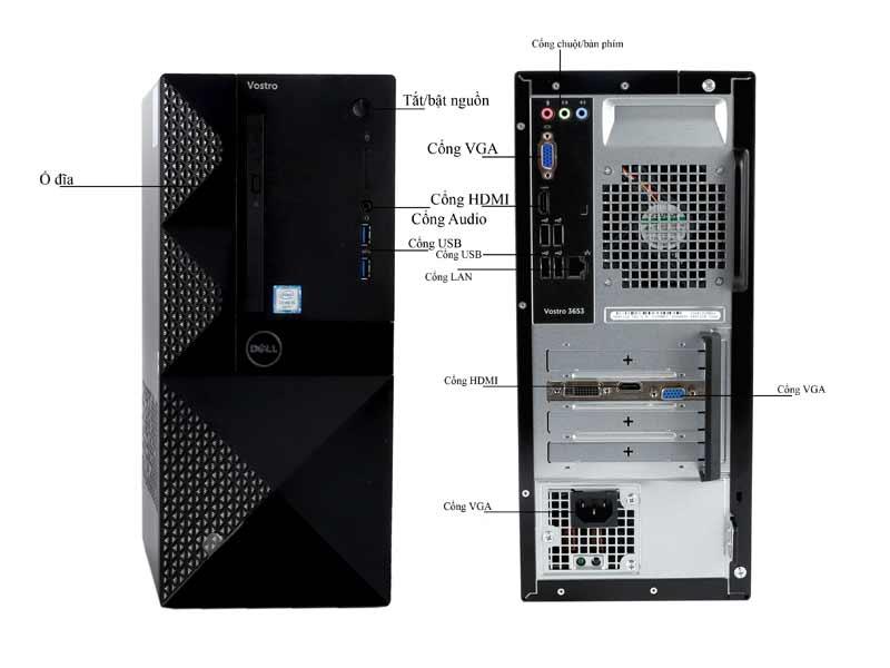 Máy tính để bàn Dell Vostro V365342VT35D003