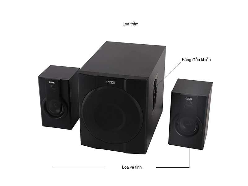 Loa Máy Tính Bluetooth Earson 2.1 ER2539
