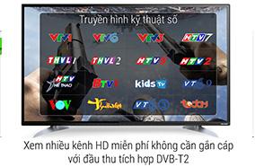 Tích hợp đầu thu DVB-T2