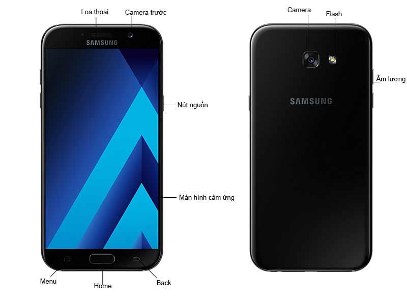 Điện Thoại Di Động Samsung Galaxy A7 2017