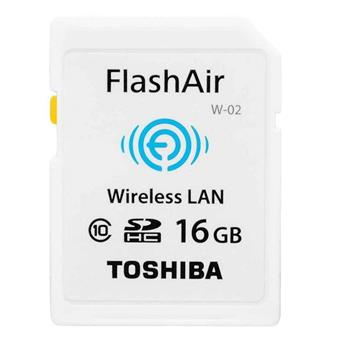 Thẻ Nhớ Toshiba 16GB SD Flash Air Class 10