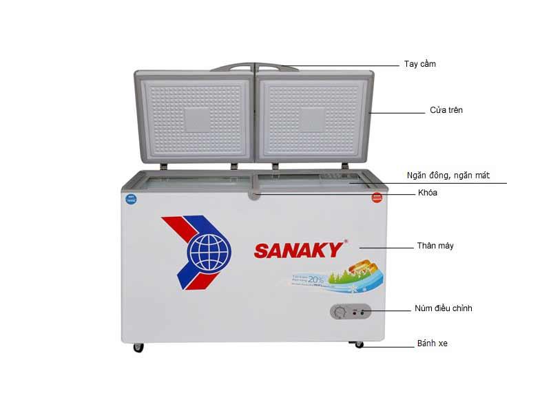 Tủ Đông Sanaky 485 Lít VH6699W1