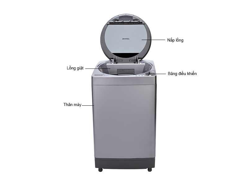 Máy Giặt Sharp ESU102HVS 9.5 Kg