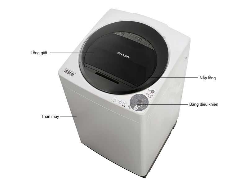 Máy Giặt Sharp ESU80GVH 8.2 Kg