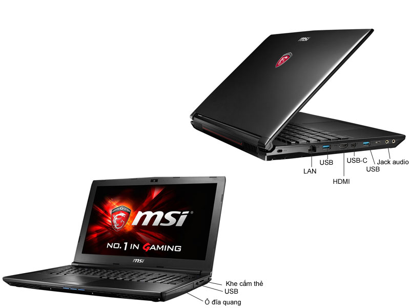 Laptop Game MSI GP627RD-030XVN Leopard