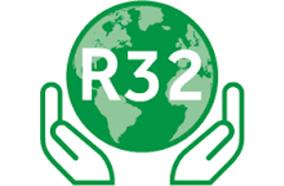 Sử dụng gas R32